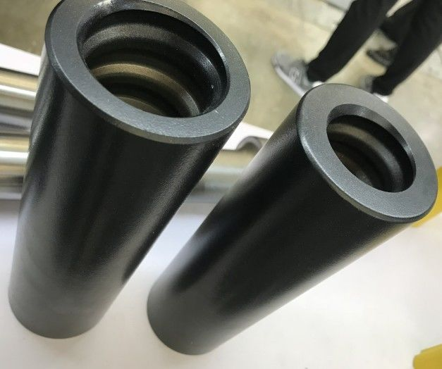 T38 T45 T51 R25 R32 R38 COUPLING SLEEVE / Drifter Speed Extension Drill Rod Coupling Sleeves for Mining Rock Drilling